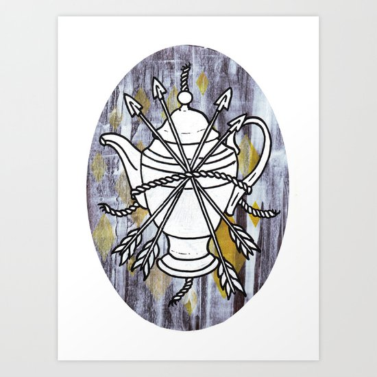 Four Arrows Art Print