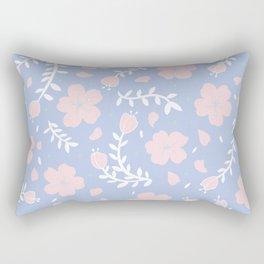 sakura blossoms (pastel) Rectangular Pillow