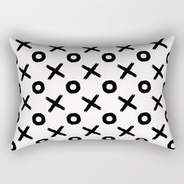 x's and o's Rectangular Pillow