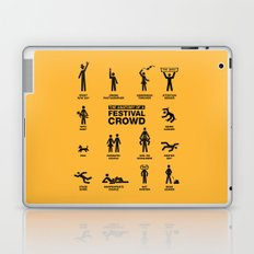 The Anatomy of a Festival Crowd Laptop & iPad Skin