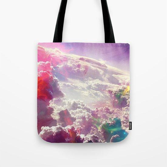 Clouds #galaxy Tote Bag