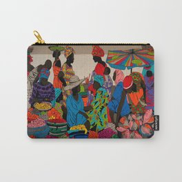 African market 3 Carry-All Pouch