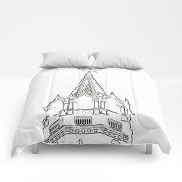 Kremlin Chimes- white Comforters