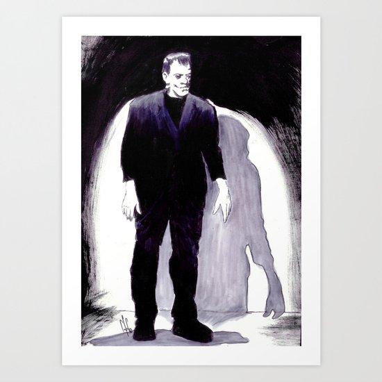 Science's Monster Terror Art Print