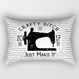 Crafty B*tch - SEW - Just Make It! Pure Handmade - Do It Yourself Rectangular Pillow