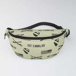 1st Cavalry Division Pattern (Sand) Fanny Pack