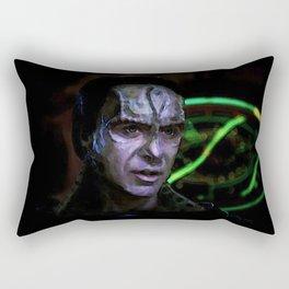 the Turncoat Rectangular Pillow