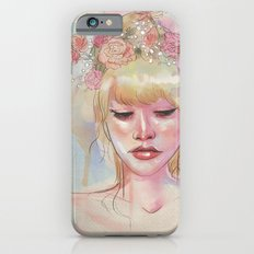 Watercolors and Floral Crowns iPhone 6s Slim Case