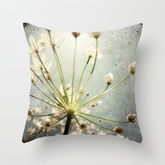 Botanical Explosion Throw Pillow