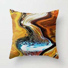 Schooner Falls Throw Pillow