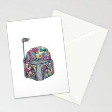 Boba Fett Galaxy Stationery Cards