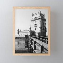 PORTUGAL ... Lisbon - Torre de Belem Framed Mini Art Print