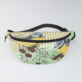 two birds in harmonie Fanny Pack