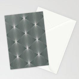 Geometric Orb Pattern XXIII Stationery Cards