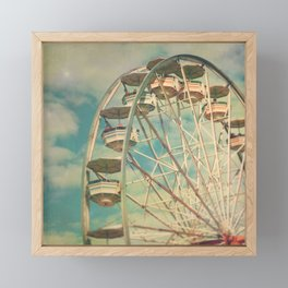 Ferris wheel 1 Framed Mini Art Print