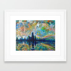 Horizons Framed Art Print