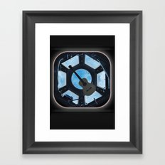Cupola Hadfield edition Framed Art Print