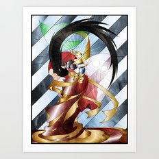 Who is the Fairest Art Print