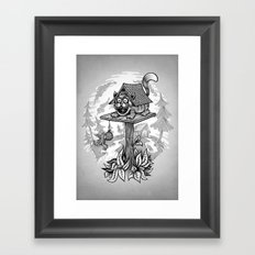 Cleverness Framed Art Print