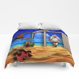 Holiday's dream Comforters