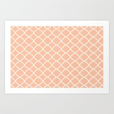 Moroccan Rose Art Print