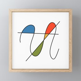 Abstract #27 Framed Mini Art Print