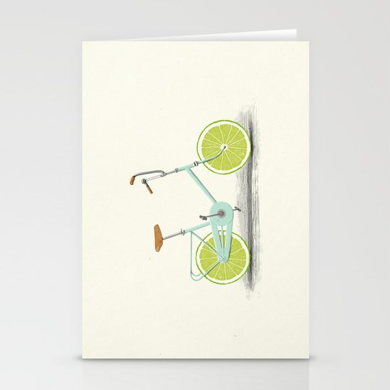Acid (Blue) Stationery Cards