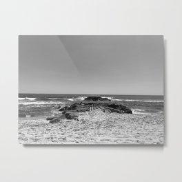 Asbury BW Metal Print