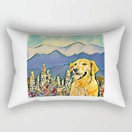 Mountain Dog 2 Rectangular Pillow