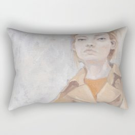 Trenchcoat Rectangular Pillow