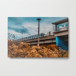 Autumn Old Mill Station, Toronto Photograph Metal Print