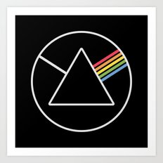 Dark Side Art Print