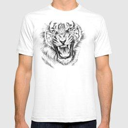 Tiger Portrait Animal Design T-shirt