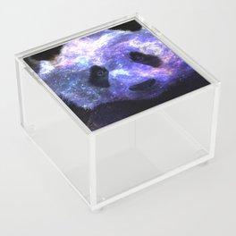 Galaxy Panda Space Colorful Acrylic Box