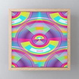 Pop Art Sphere Framed Mini Art Print