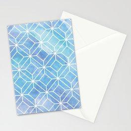 Geometric Crystals: Mermaid Galaxy Stationery Cards