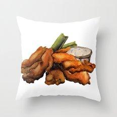 Buffalo Chicken Throw Pillow