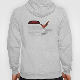 The Ron Swanson Cocktail Recipe Hoody