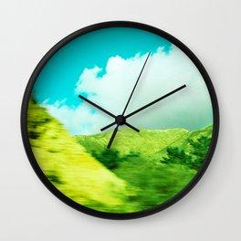 Moving Mountains, Salinas // California Wall Clock