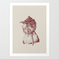Haute Coiffure  /#7 Art Print