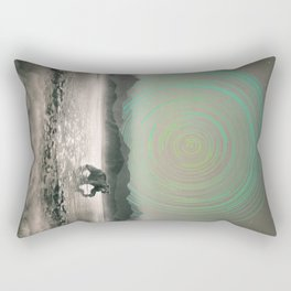 Spinning Out of Nothingness Rectangular Pillow