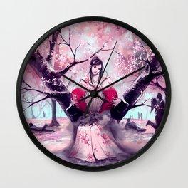 According to my jealousy Wall Clock