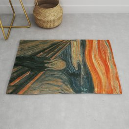 THE SCREAM - EDVARD MUNCH Rug