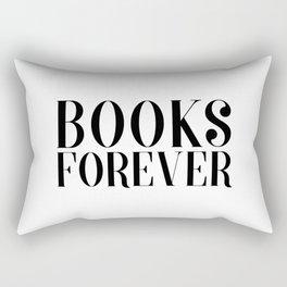 Books Forever Rectangular Pillow