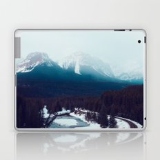 Canadian Rocky Mountains, Banff, Lake Louise, Winter Landscape Laptop & iPad Skin