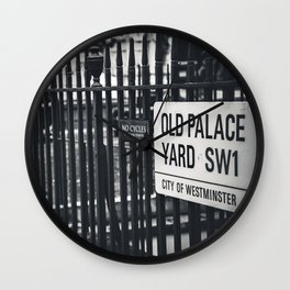 Old Palace Yard Wall Clock