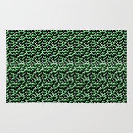 Green Metal Rug