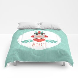 HIPSTER OWLET Comforters