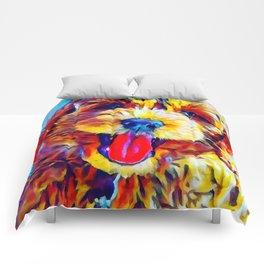 Goldendoodle 2 Comforters