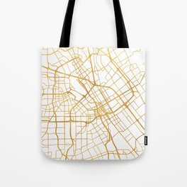 SAN JOSE CALIFORNIA CITY STREET MAP ART Tote Bag